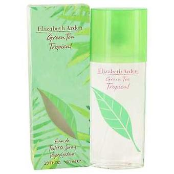Green Tea Tropical By Elizabeth Arden Eau De Toilette Spray 3.3 Oz (women) V728-498337