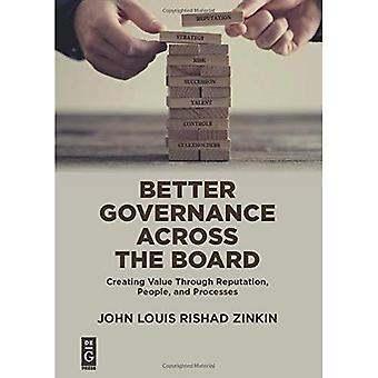 Better Governance Across the Board: Creating Value Through Reputation, People, and Processes
