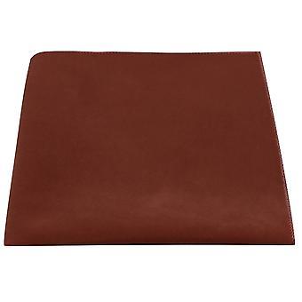 Luxury Walnut Brown Velvet Pocket Square