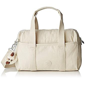 Kipling Practi-cool - Women Off-White Shoulder Bags (Rainy Day) 38.5x21x17.5 cm (W x H L)