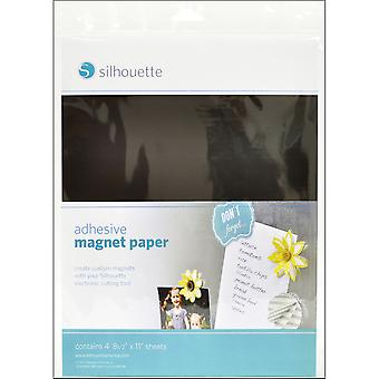 Silhouette Adhesive Magnet Paper 8.5