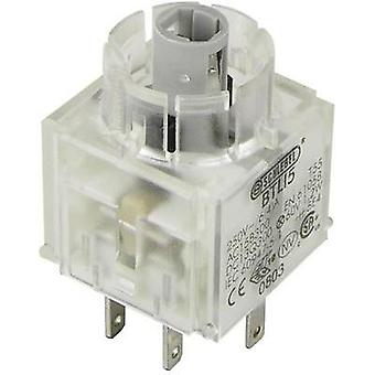 Contact + bulb holder 2 makers momentary 250 V Schlegel BTLI5 1 pc(s)