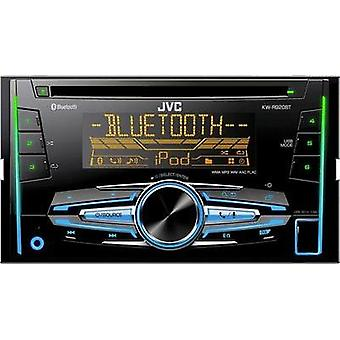 Double DIN car stereo JVC KW-R920BT Bluetooth handsfree set
