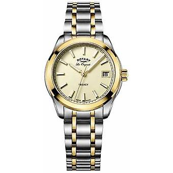 Rotary Womens Les Originales Legacy Two Tone LB90174/03 Watch