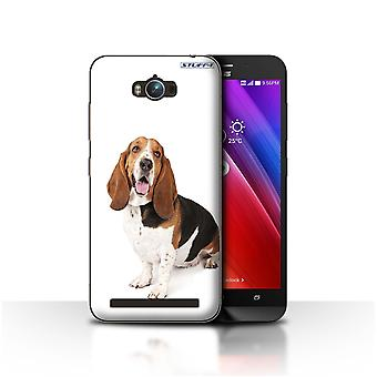 STUFF4 Case/Cover for Asus Zenfone Max ZC550KL/Basset Hound/Dog Breeds