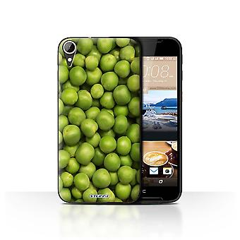 STUFF4 Case/Cover for HTC Desire 830/Green Garden Peas/Food