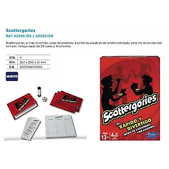 Parker Games Scattergories (Toys , Boardgames , Knowledge)