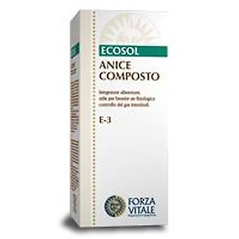 Forza Vitale Anice Compost 25Gr.comprimidos Gases