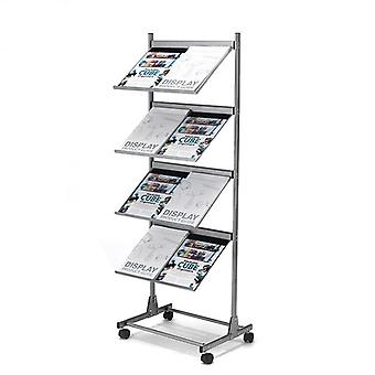 Mobile A3 Brochure Stand