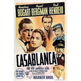 カサブランカ映画ポスター (11 x 17)