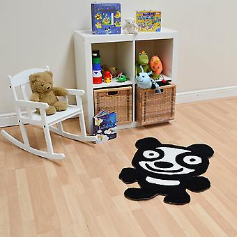 Panda Tapis In Black