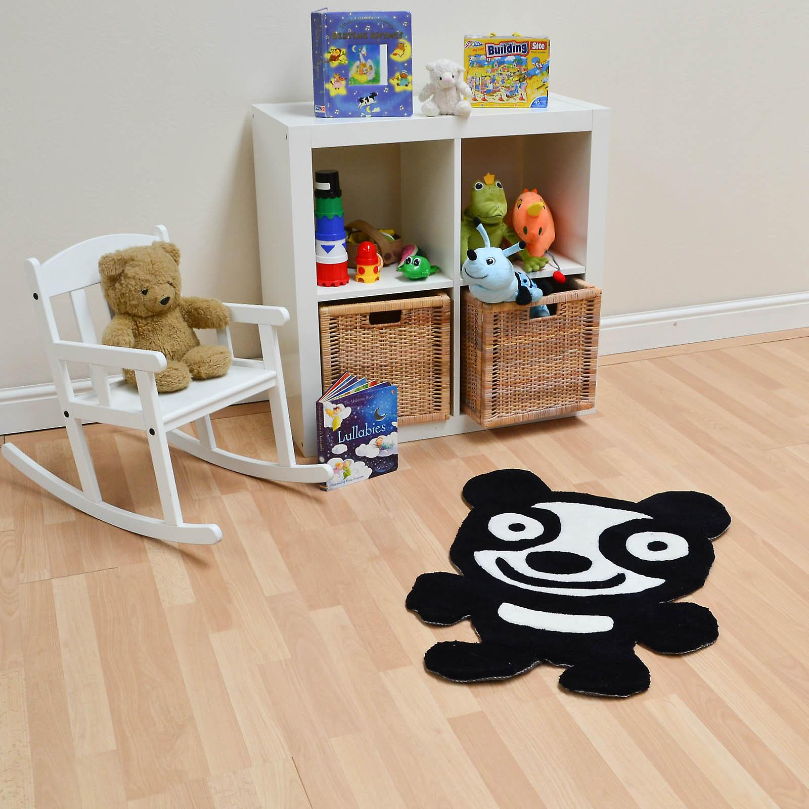 Panda Rugs In Black