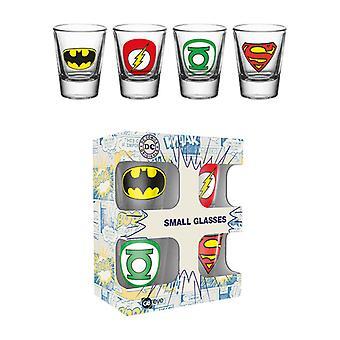 DC Comics logoer Shot glass