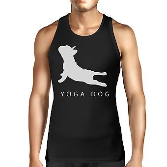 Yoga hund Unisex linne Yoga ärmlös skjorta söta presenter till Yogi bce9eceb10e0e