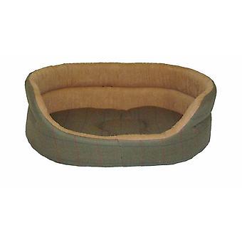 Tweed grønne slummer seng 76cm (30