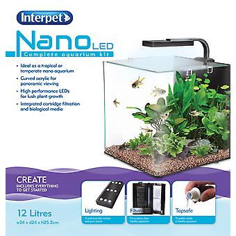 Interpet Nano Led akvarium 12 liter