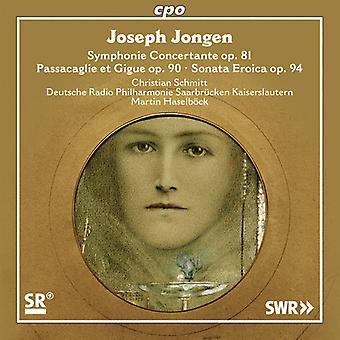 Jongen / Schmitt / Deutsche Radio Philharmonie - importación de Estados Unidos Symphonie Concertante Op 81 [SACD]