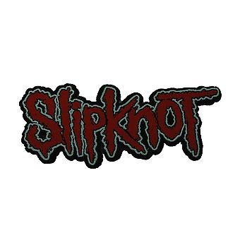 Slipknot Cut Out Logo Woven Patch