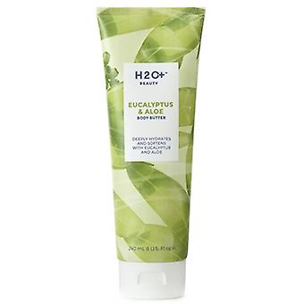 H2O Plus Eucalyptus & Aloe Body 8oz / 240ml de beurre