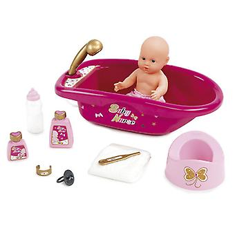 Smoby Set Bañera (Toys , Dolls And Accesories , Baby Dolls , Furniture)