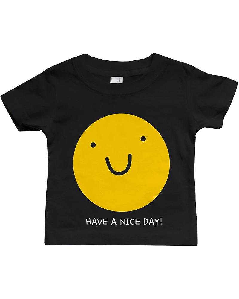 Have a Nice Day Funny Black Baby Shirt Cute Gift for Holidays