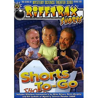 RiffTrax: Shorts til-Go [DVD] USA importerer
