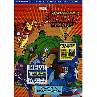 Marvel the Avengers-Earths Mightiest Heroes Vol. 5 [DVD] USA import