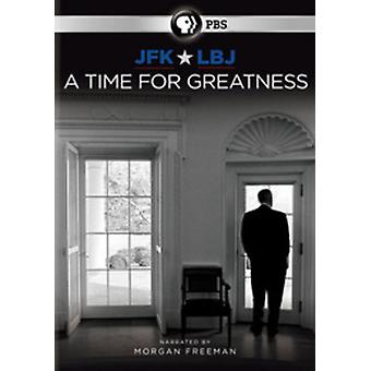 JFK & Lbj: A Time for Greatness [DVD] USA import
