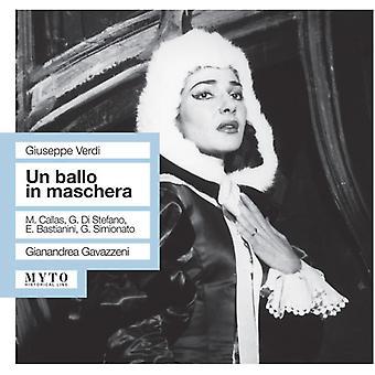 Verdi / Callas / Bastianini / Gavazzeni - Un Ballo in Maschera [CD] USA import