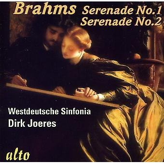 J. Brahms - Brahms: Serenades Nos. 1 & 2 [CD] USA import