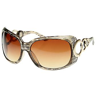 Designer Inspired Womens Fashion Glam Oversized Sunglasses