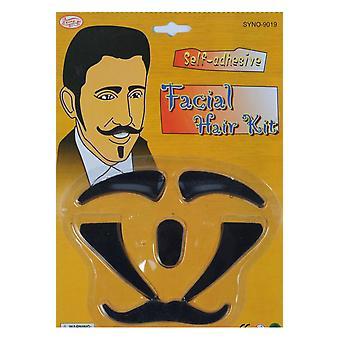Beards and mustaches Men Set with facial hair Casanova