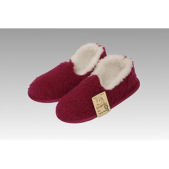 Moccasin wool bordeaux 44/45