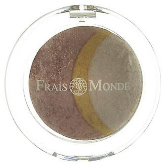 Frais Monde Thermal Mineralize Baked Trio Eyeshadow 2.2g (Make-up , Eyes , Eyeshadow)