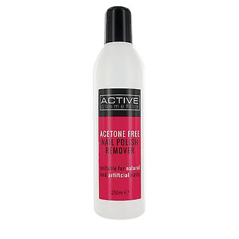 Active Nailcare System Nail Polish Remover 250ml - Acetone Free