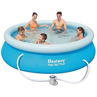 Bestway Swimming Pool Fast Set And Treatment 305X76 Cm 3.638 L