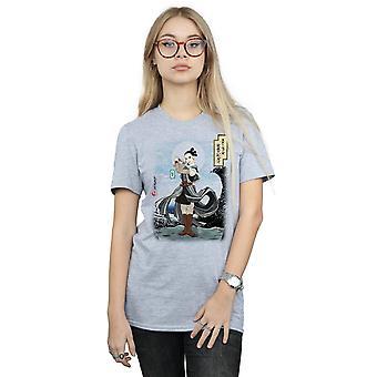 Star Wars vrouwen de laatste Jedi Japanse Rey Boyfriend Fit T-Shirt