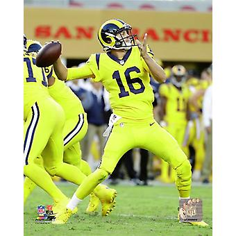 Jared Goff 2017 Action Photo Print