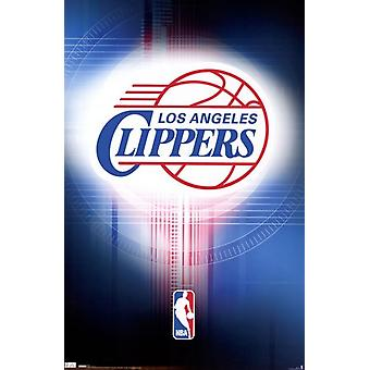 Los Angeles Clippers - Logo 2010 Poster Poster Print