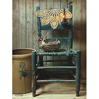 This Old Chair Poster Print by Susie Boyer (12 x 16)