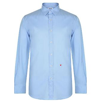 Moschino HR701X1B 65301 04 Light Blue Casual Shirt