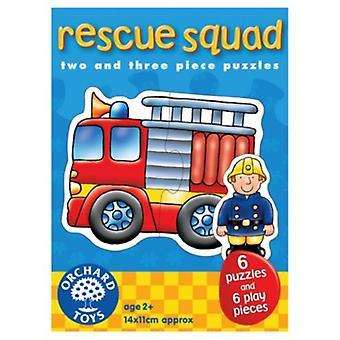 Puzzle di frutteto giocattoli Rescue Squad