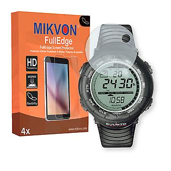 Suunto Vector screen protector - Mikvon FullEdge (screen protector with full protection and custom fit for the curved display)