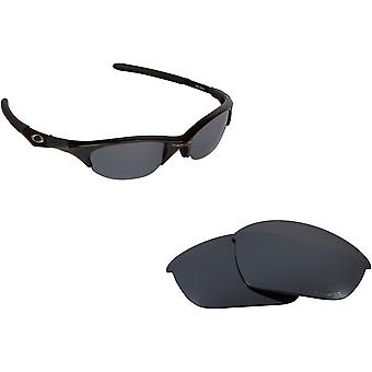 HALF JACKET Aziatische passen vervanging lenzen zwart Iridium door SEEK past OAKLEY