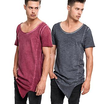 Urban Classics - ASYMETRIC DYE SHAPED Long Tee Shirt
