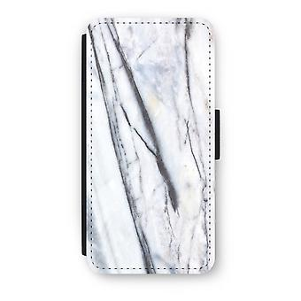 iPhone 6/6S Plus Flip Case - Striped marble