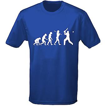 Cricket Evo Evolution Kids Unisex T-Shirt 8 Colours (XS-XL) by swagwear