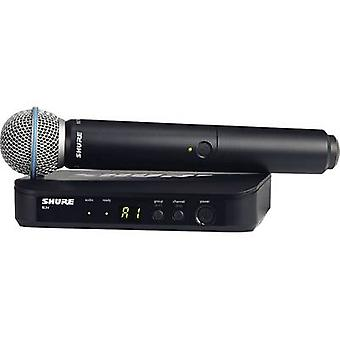 Wireless microphone set Shure BLX24E/B58-T11 Transfer type:Radio
