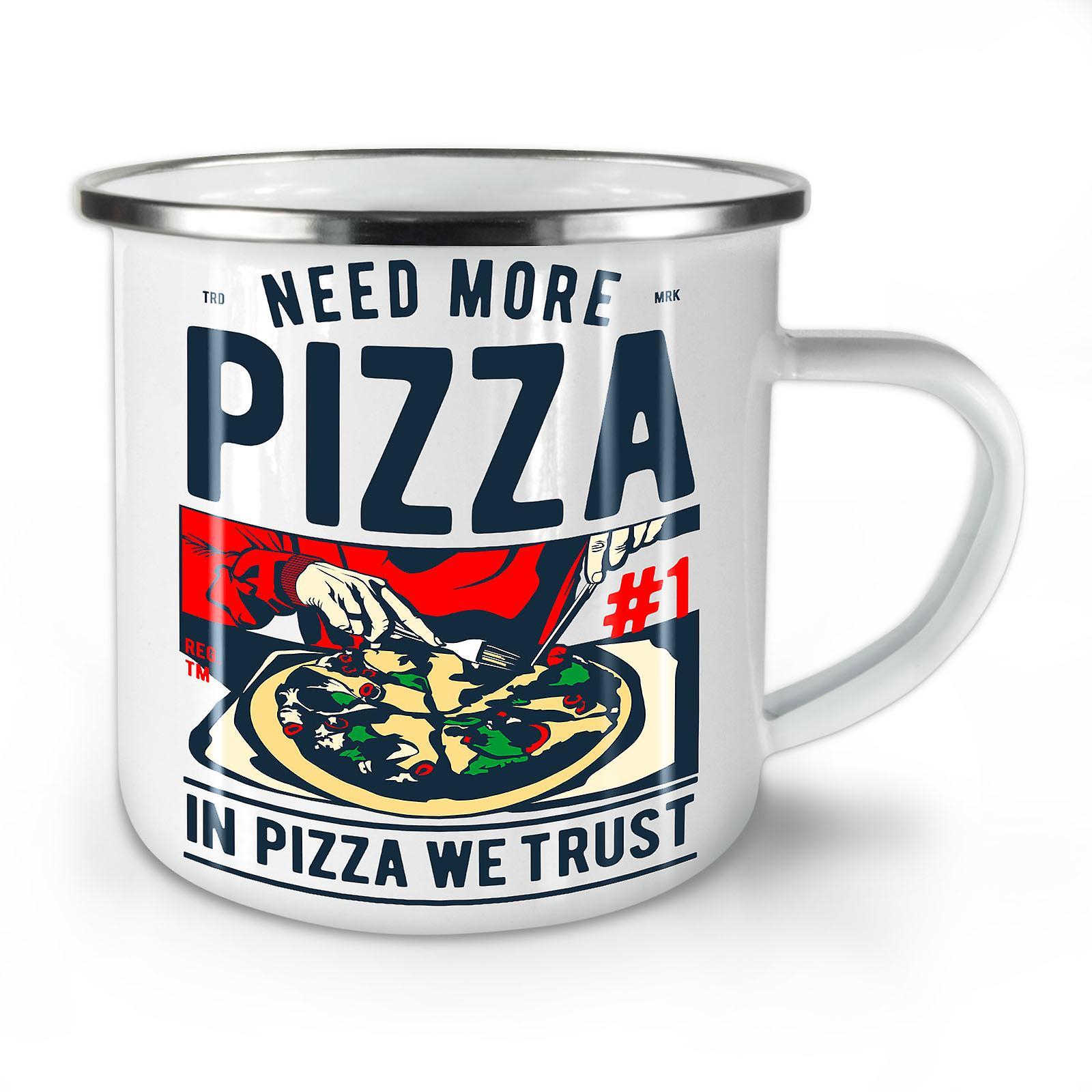 Nouveau Pizza Émail OzWellcoda Café We Whitetea Dans Trust Mug10 yvmnwN80O