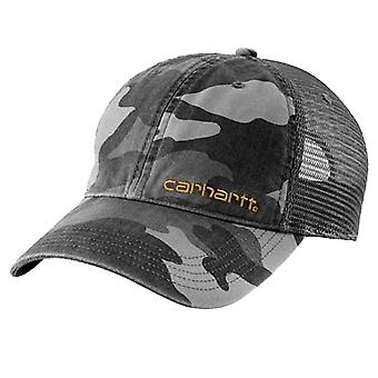 Carhartt Brandt Cap - Rugged Grey Camo CH101194GC Mens baseball cap peak hat